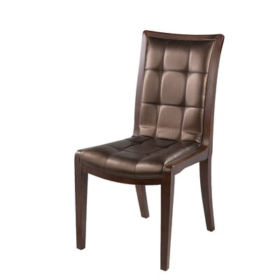 King Parsons Chair Upholstery: Chocolate