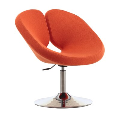 Paco Leisure Lounge Chair NFL Team: Orange