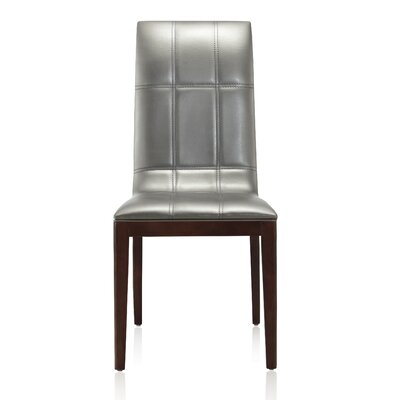 Royal Parsons Chair Upholstery: Silver