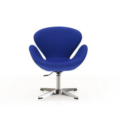 Raspberry Lounge Chair Upholstery: Blue