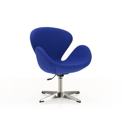 Hero Adjustable Side Chair Upholstery: Blue