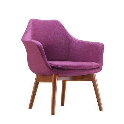 Cronkite Armchair Upholstery: Lavender