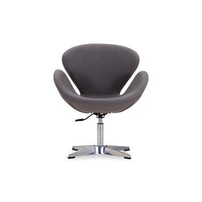 Raspberry Lounge Chair Upholstery: Grey