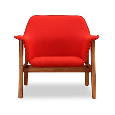 Miller Armchair Upholstery: Burnt Orange