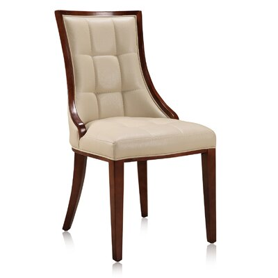 Barrel Upholstered Dining Chair Upholstery: Cream