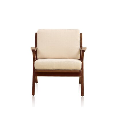 Martelle Leisure Arm Chair Upholstery: Cream