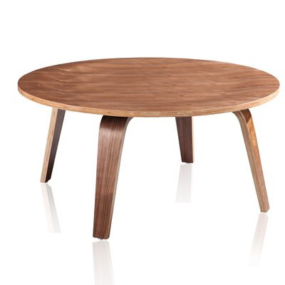 Rana Coffee Table Color: Walnut