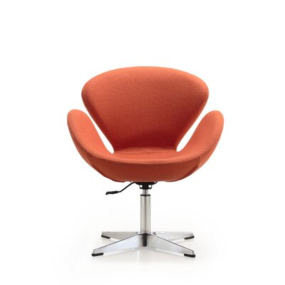 Raspberry Lounge Chair Upholstery: Orange