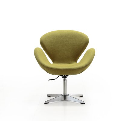 Raspberry Lounge Chair Upholstery: Green