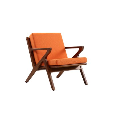 Martelle Leisure Armchair Upholstery: Orange