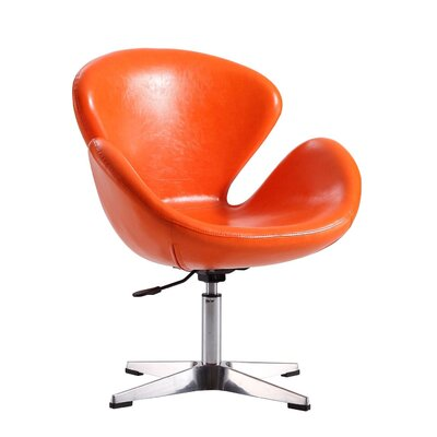 Raspberry Leisure Lounge Chair Upholstery: Orange