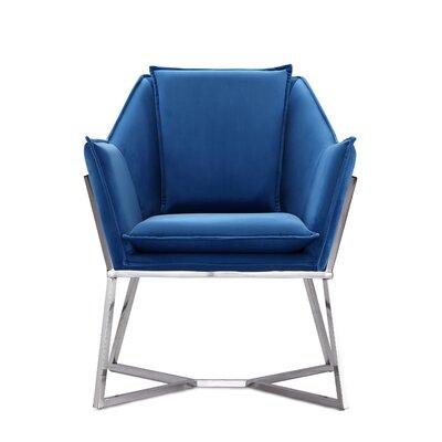 Pesce Armchair Upholstery: Blue