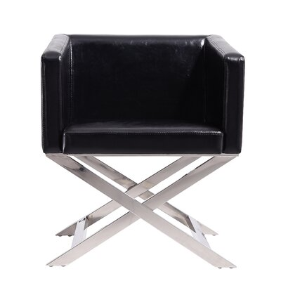 Park Slope Armchair Upholstery: Black