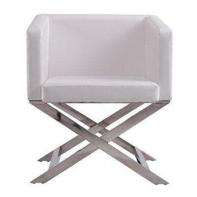 Park Slope Armchair Upholstery: White