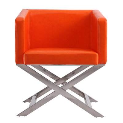 Park Slope Armchair Upholstery: Orange
