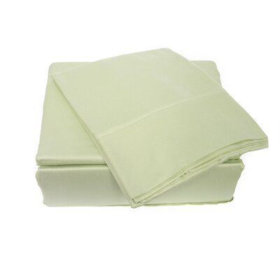 300 Thread Count Sheet Set Size: Full, Color: Pastel Green