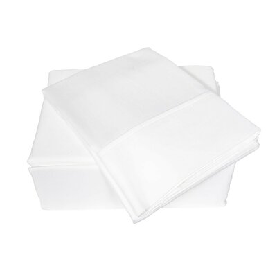300 Thread Count Sheet Set Size: King, Color: White