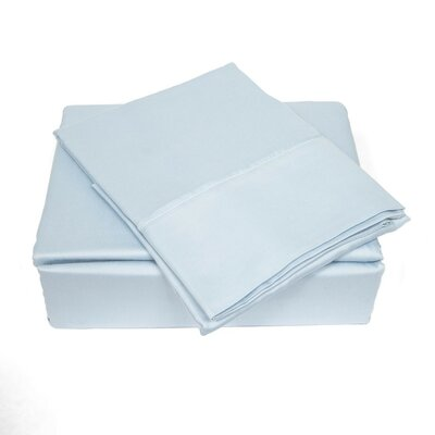 300 Thread Count Sheet Set Size: Queen, Color: Sky Blue