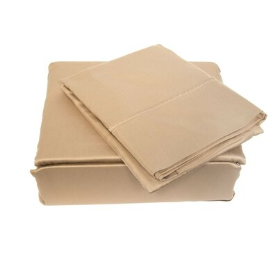300 Thread Count Sheet Set Size: King, Color: Taupe