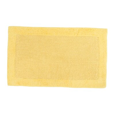 Soft Cotton Bath Mat Color: Yellow