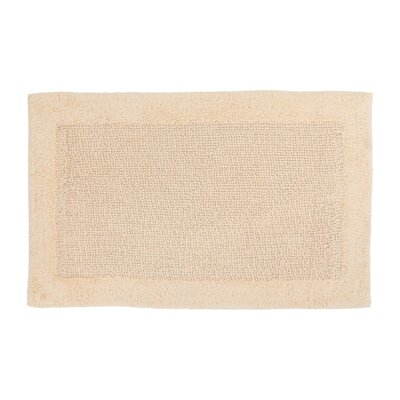 Soft Cotton Bath Mat Color: Cream