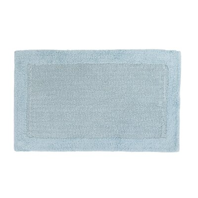 Soft Cotton Bath Mat Color: Baby Blue