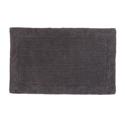 Soft Cotton Bath Mat Color: Charcoal