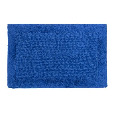Soft Cotton Bath Mat Color: Royal Blue