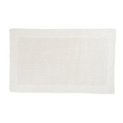Soft Cotton Bath Mat Color: White