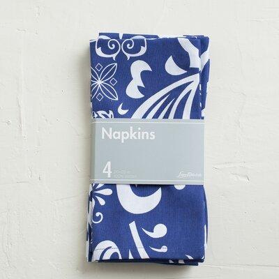 Buckley Blue Cotton Napkin