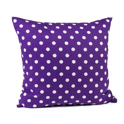 Gregory Cotton Pillow Cover Color: Purple