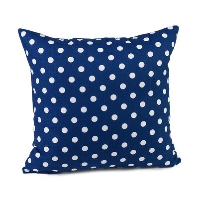 Gregory Cotton Pillow Cover Color: Navy Blue