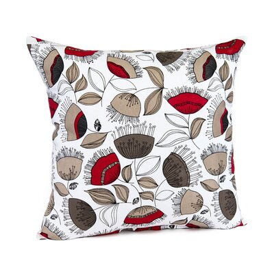Loraine Bellflower Cotton Pillow Cover