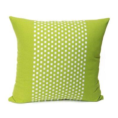 Broncho Stripe Cotton Pillow Cover Color: Valley Green