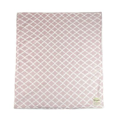 Moroccan Mini Tile Throw Blanket Color: Taupe