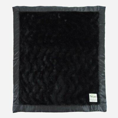 Luxe Bella Throw Color: Black