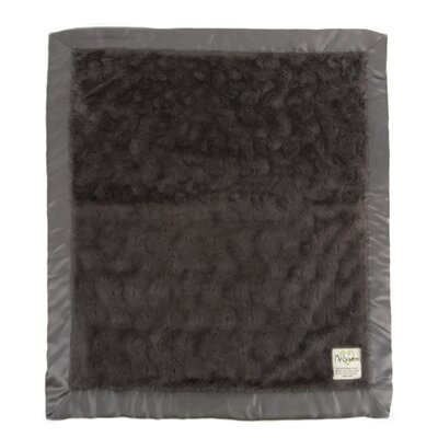 Luxe Bella Throw Color: Charcoal
