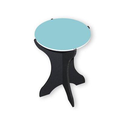 Sarmiento End Table Color: Aqua