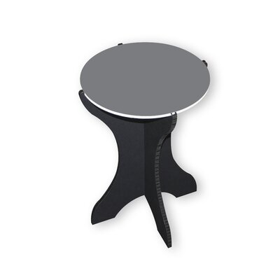 Sarmiento End Table Color: Gray