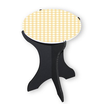 Dela End Table Color: Yellow
