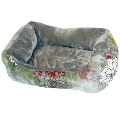 Dawn Flannel Fleece Pet Bed