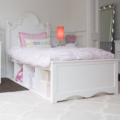 Adelaide Twin Panel Bed with Storage