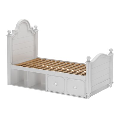 Cowell Twin Panel Bed with Storage