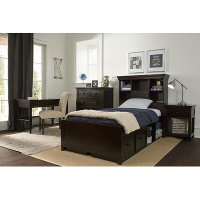 Boston Twin Panel Bed with Storage