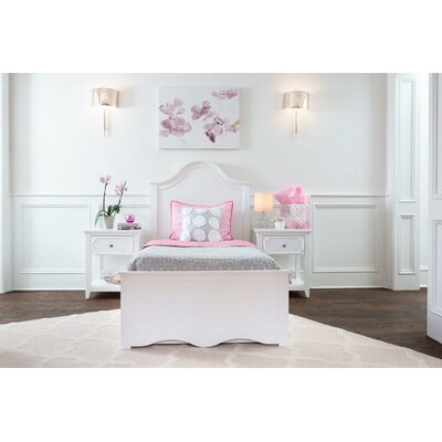 Charleston Twin Panel Bed with Storage