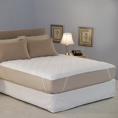 Restful Nights Water Bed Mattress Pad Size: King