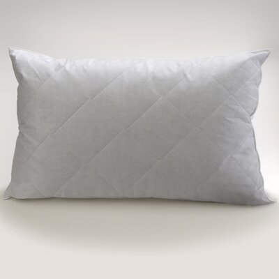 Restful Nights Quilted Fiber Pillow Size: 20 x 36