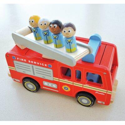 Freddie Fire Engine Wood Playset Toy IIJ8051