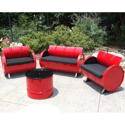 Unique Loft Sunbrella Sofa Set Cushions Product Photo