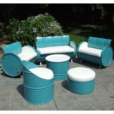 Del Ray 6 Piece Seating Group with Cushion